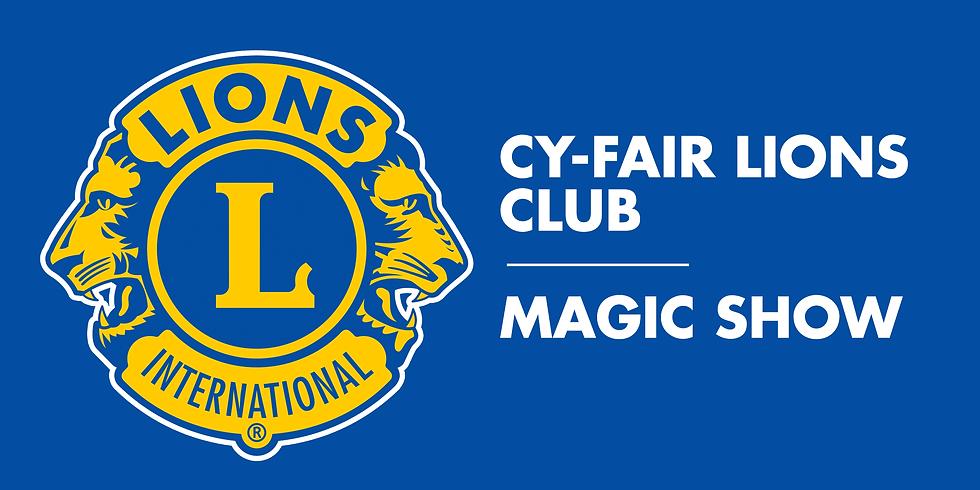 Cy-Fair Lions Club Magic Show
