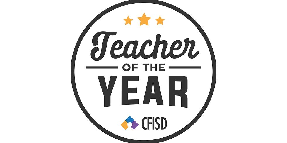 CFISD TEACHER OF THE YEAR CEREMONY