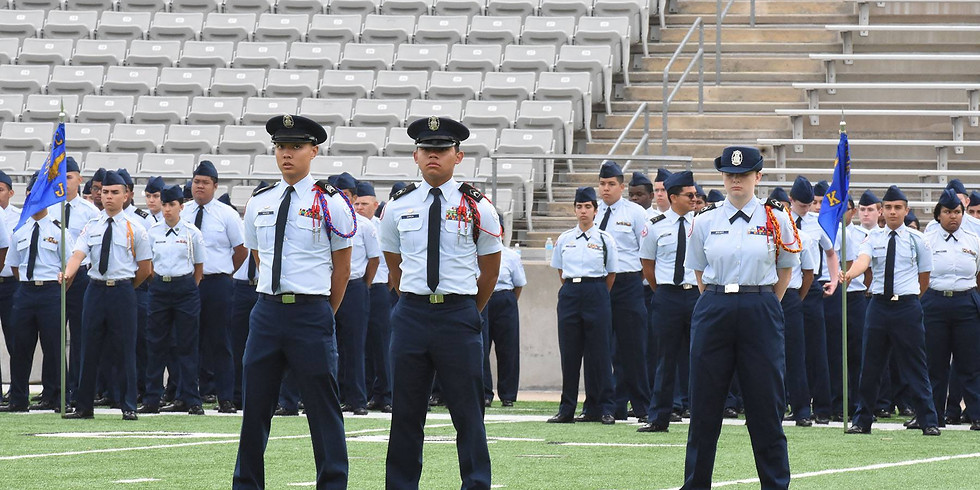 CFISD ROTC PASS IN REVIEW