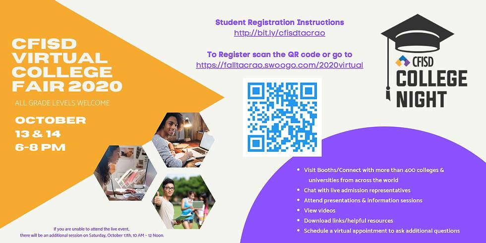 CFISD Virtual College Fair 2020