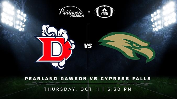Pearland Dawson vs Cypress Falls