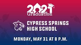 Cypress Springs High School Class of 2021