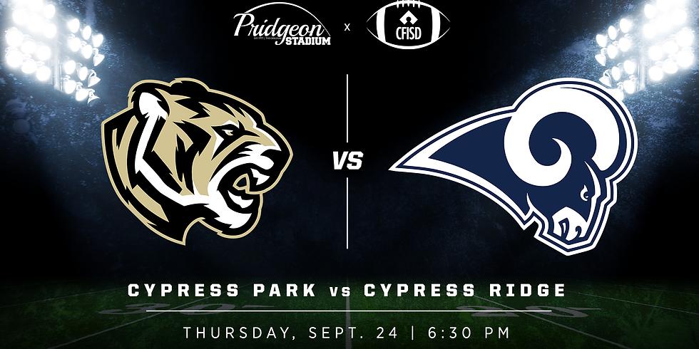 Cypress Park vs Cypress Ridge