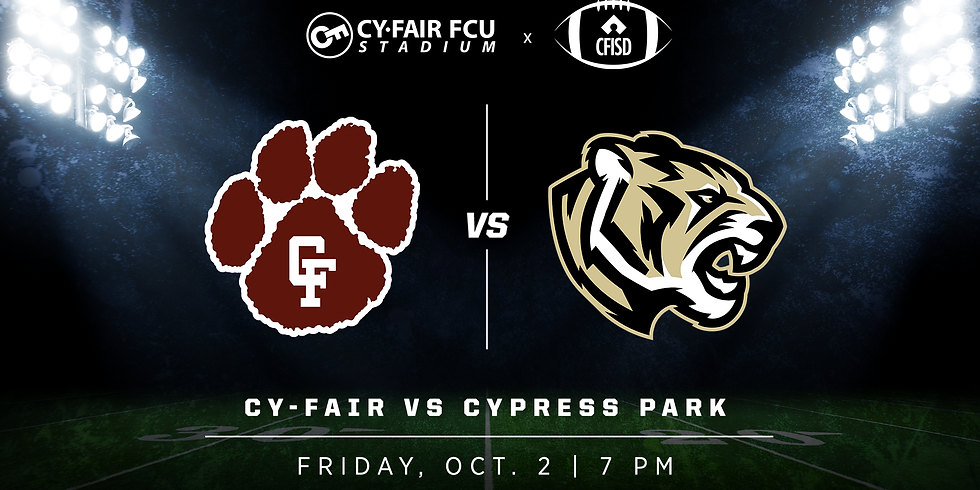Cy-Fair vs Cypress Park