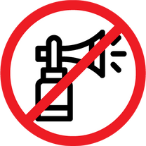No Air Horns or Noise Makers