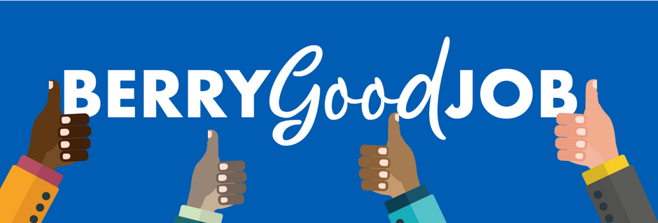 BERRY GOOD JOB: MAY 2019