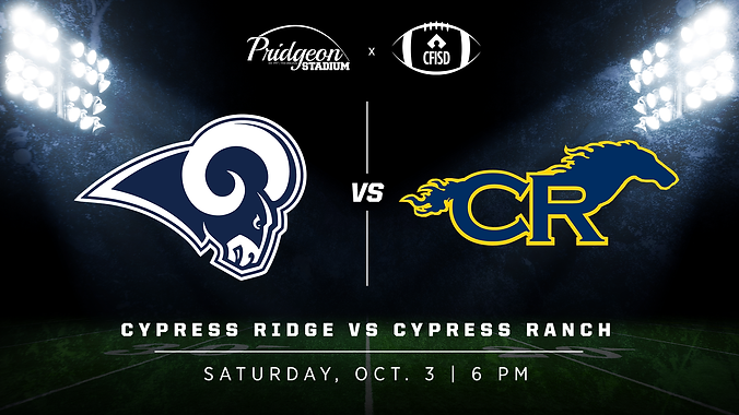 Cypress Ridge vs Cypress Ranch