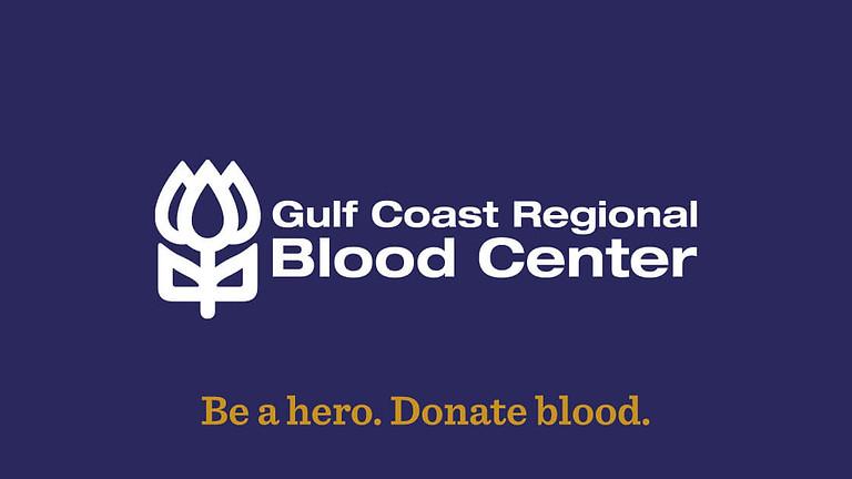 Blood Drive: Gulf Coast Regional Blood Center