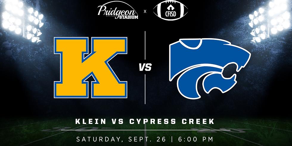 Klein vs. Cypress Creek