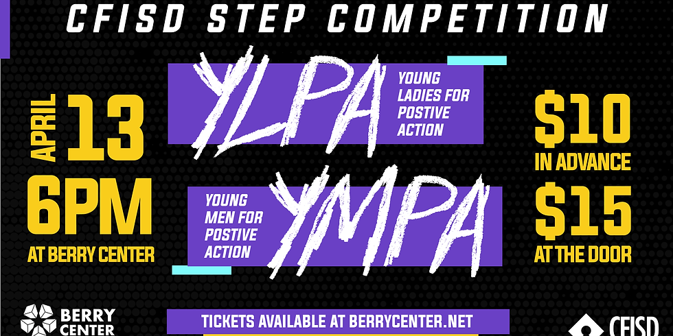 YLPA/YMPA STEP COMPETITION
