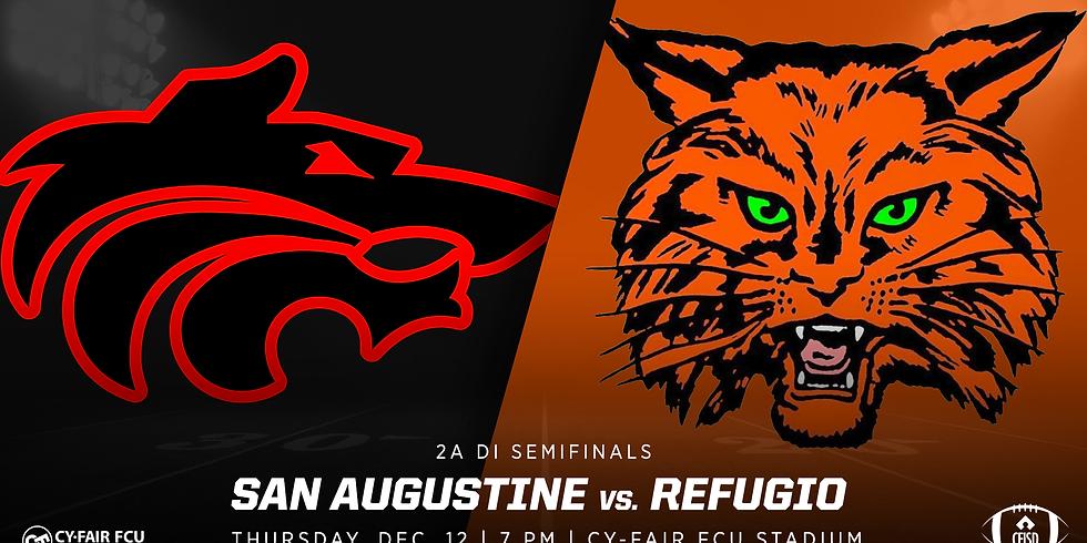 San Augustine vs. Refugio | 2A DI State Semifinals