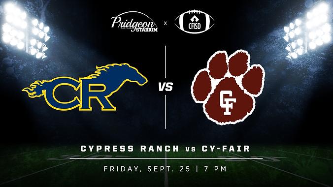 Cy Ranch vs Cy-Fair