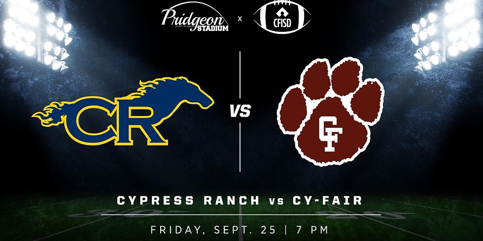 Cypress Ranch vs Cy-Fair