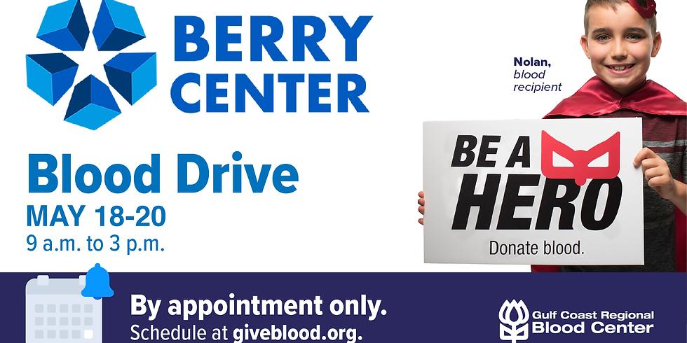 Gulf Coast Regional Blood Center Blood Drive
