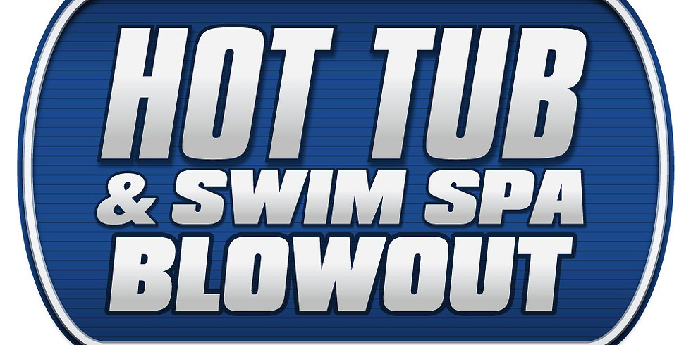 HOT TUB & SWIM SPA BLOWOUT EXPO