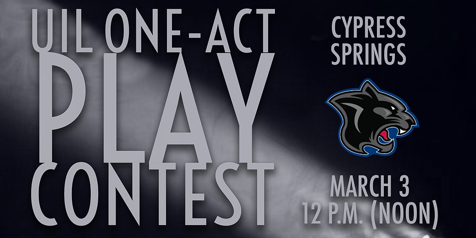 UIL One-Act Play: Cypress Springs