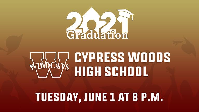 Cypress Woods High School Class of 2021 Graduation