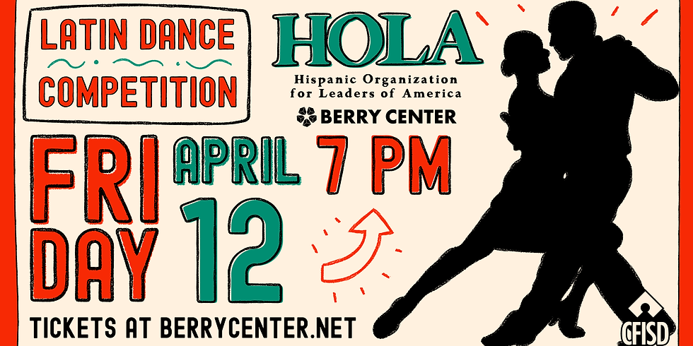 HOLA LATIN DANCE COMPETITION