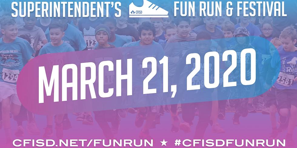 CFISD Superintendent's Fun Run & Festival