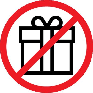 No Gifts