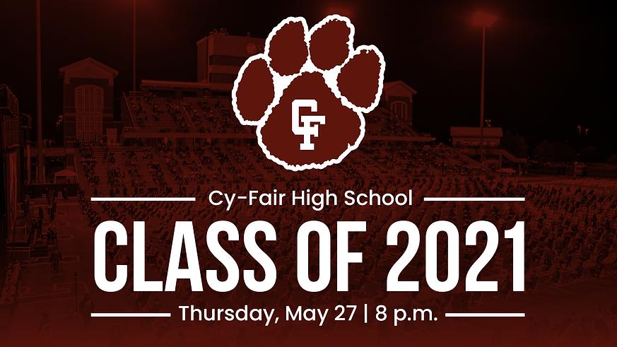Cy-Fair High School | Class of 2021