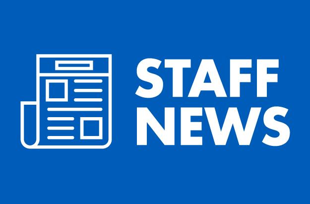Staff News from Jan. 2020