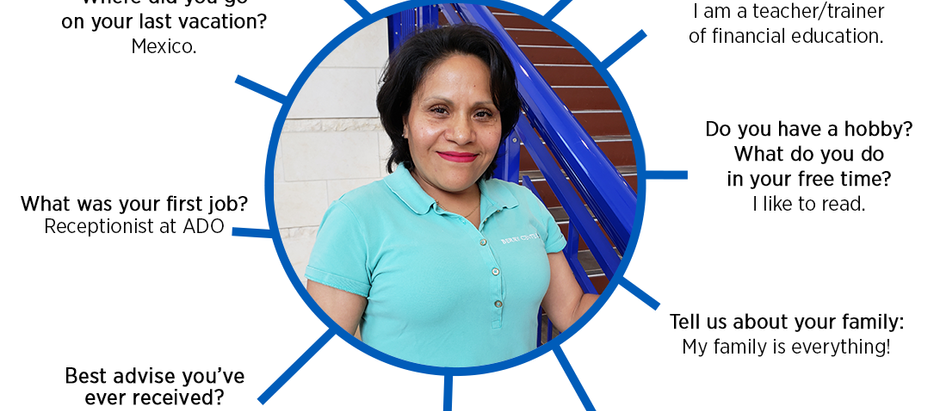MEET MARIA CERON, CUSTODIAL
