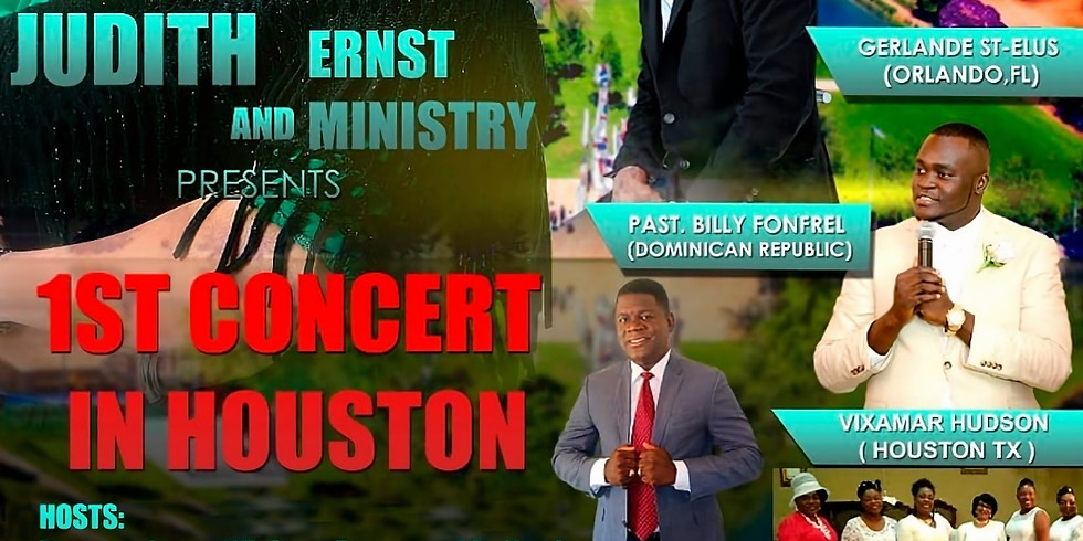 Judith and Ernst Ministries Concert