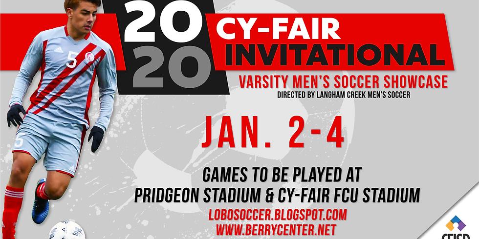 2020 Cy-Fair Invitational Soccer Tournament