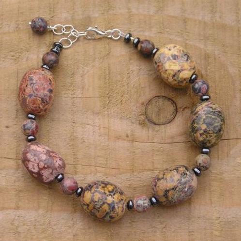 Leopardskin nugget Bracelet