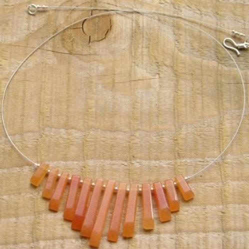 Red Aventurine necklace
