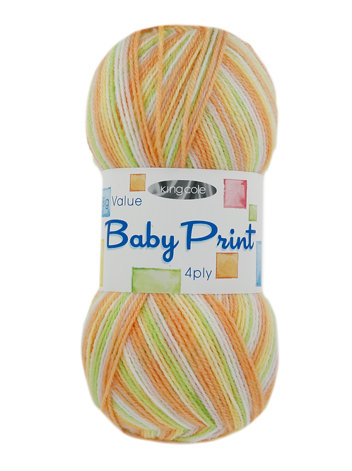 King Cole Baby Print 4 ply