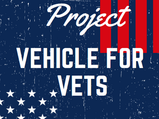 Kicking off Project Vehicle for Vets