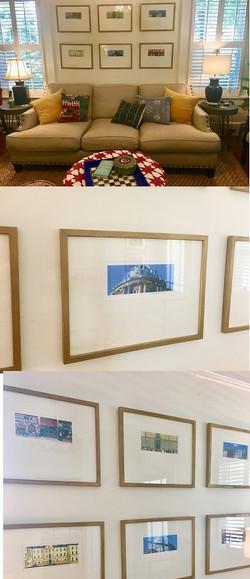 Mimi's Wall Display