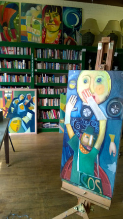 Paintings in situ