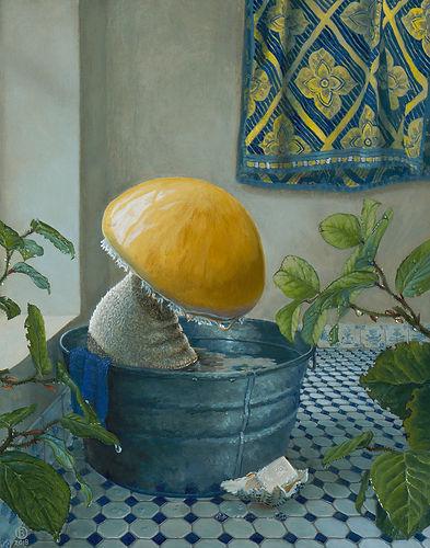 Bella Ormseth mushroom painting