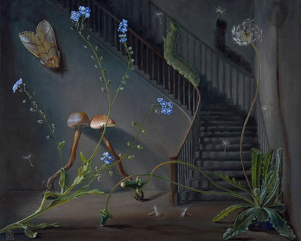 Bella Ormseth painting