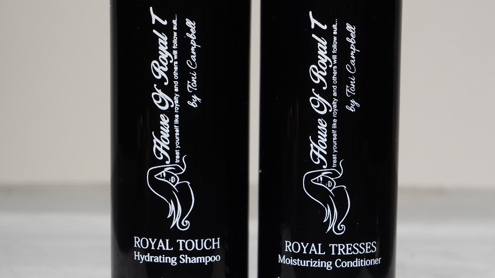 Royal shampoo & conditioner