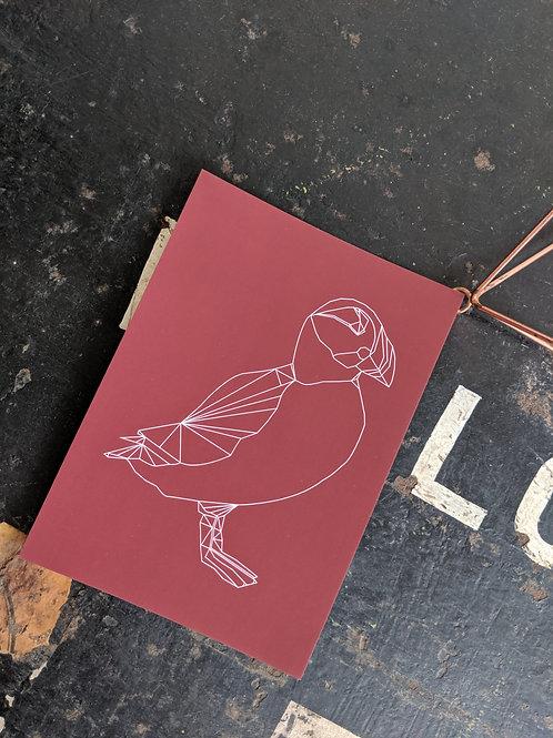 Puffin Postcard Print