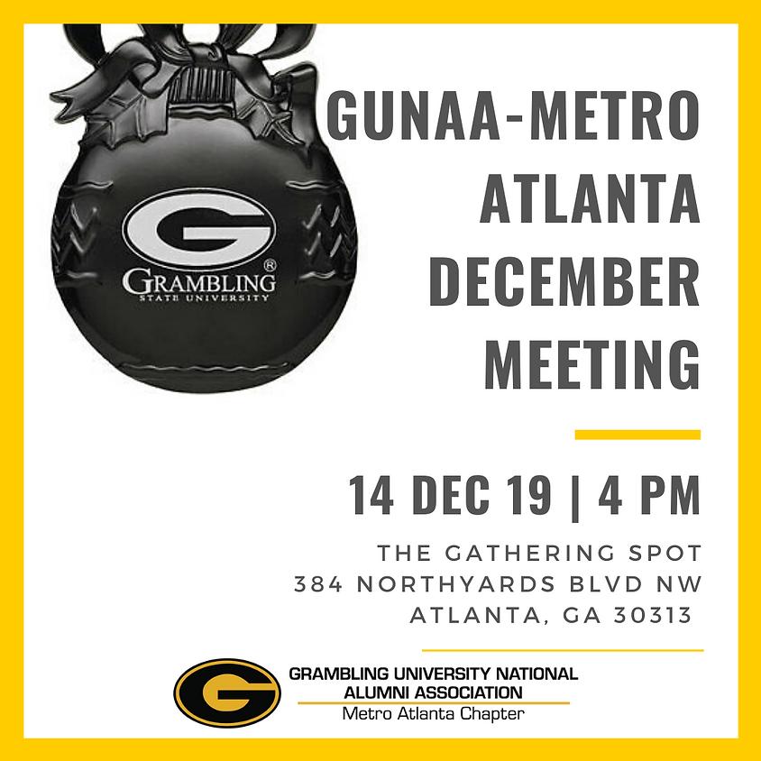 GUNAA-Metro Atlanta December General Meeting