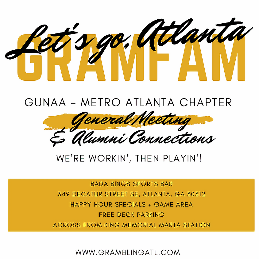 February General Meeting & Alumni Connections