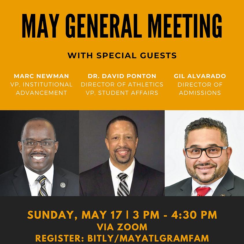May 2020 General Meeting