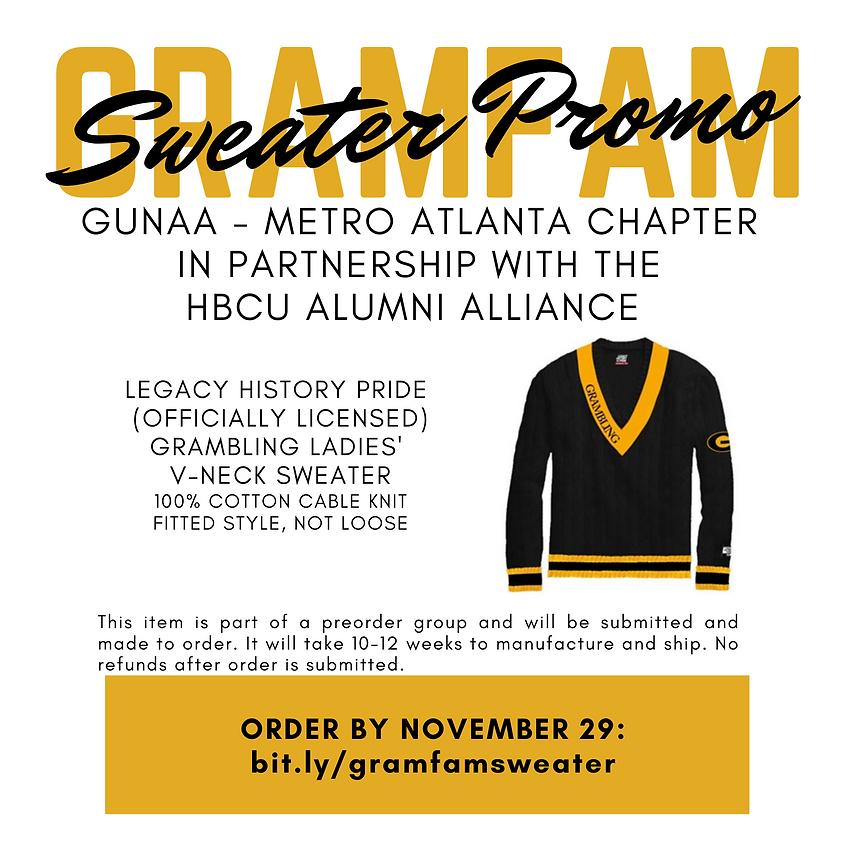 GramFam Sweater Promo