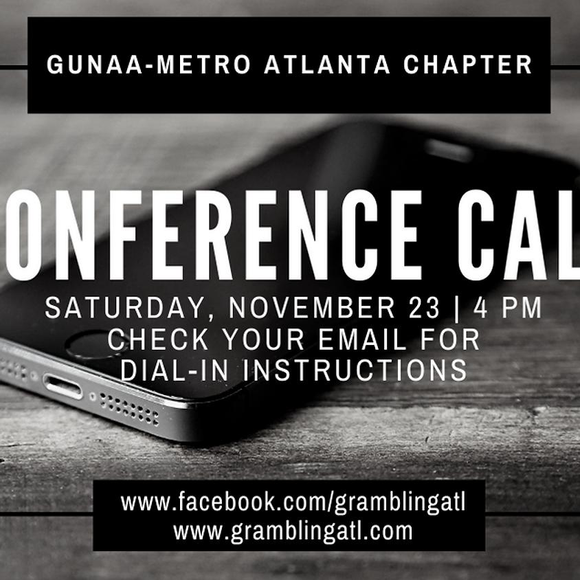 GUNAA-Metro Atlanta November General Meeting
