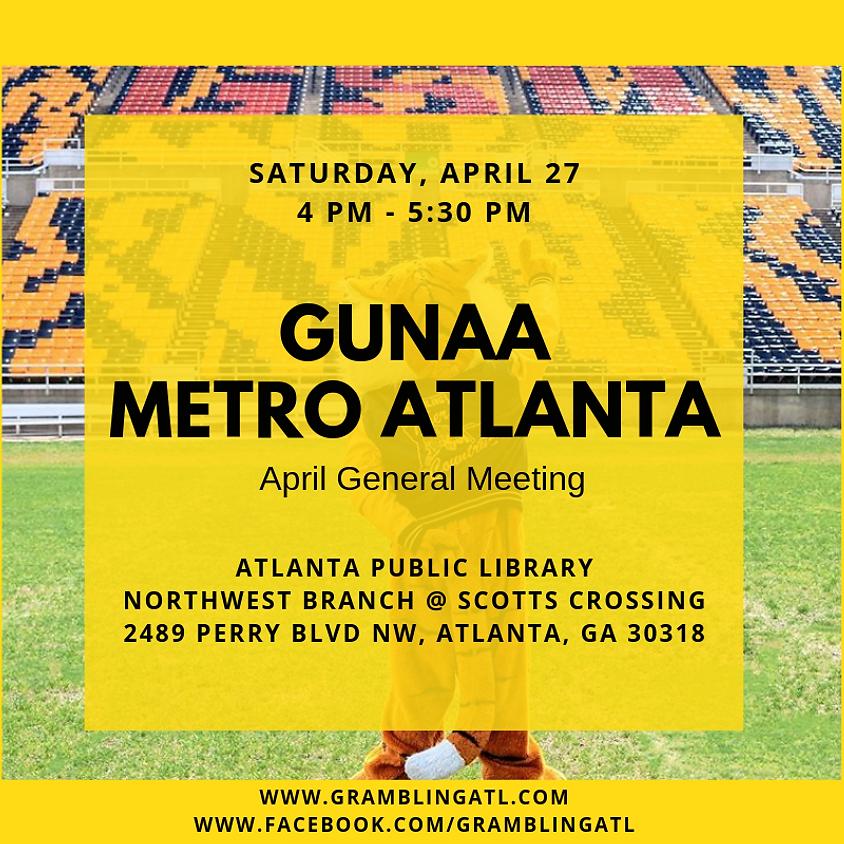 April 2019 General Meeting