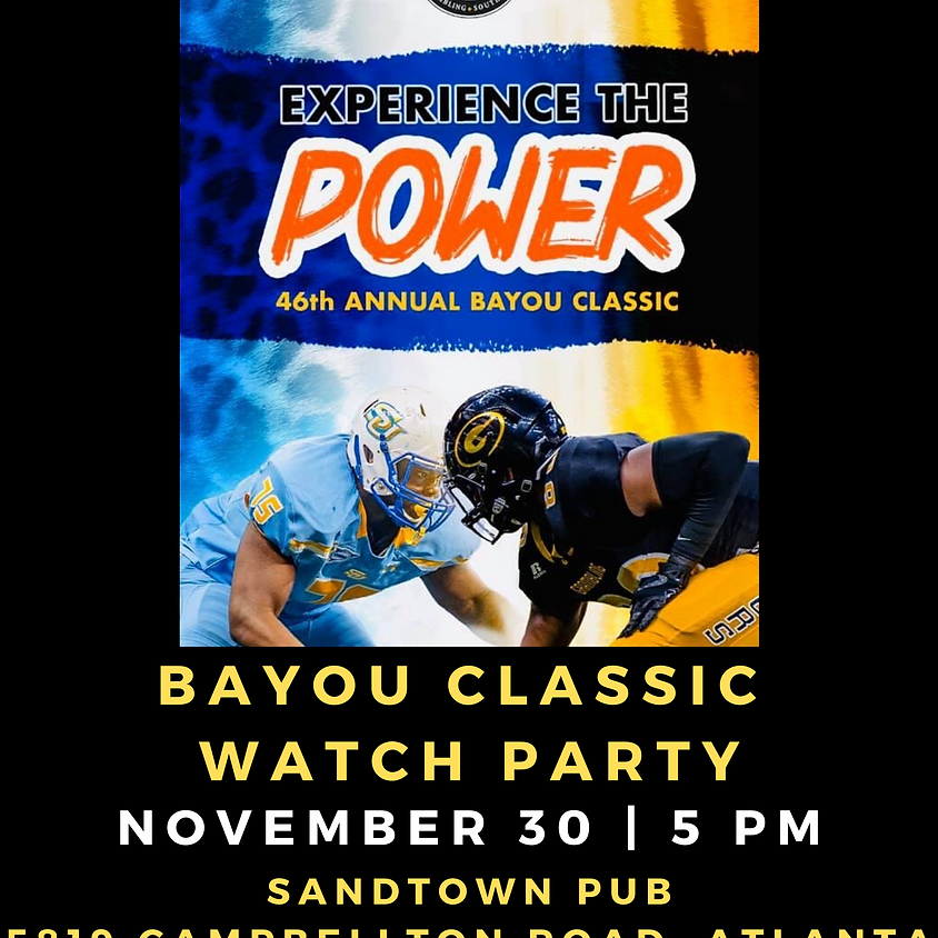 Bayou Classic Watch Party