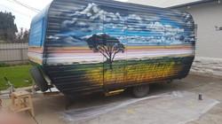 Caravan Mural