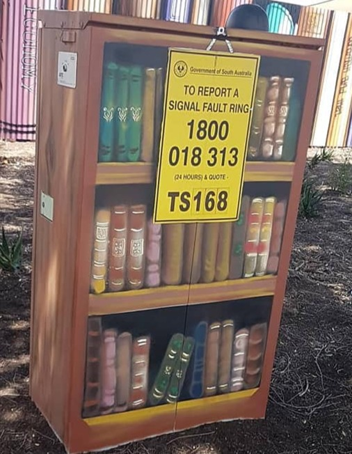 A little library- Walkervile council