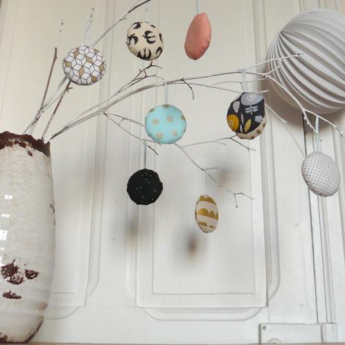 Ensemble 9 suspensions natale objets de décoration occitanie gioia june