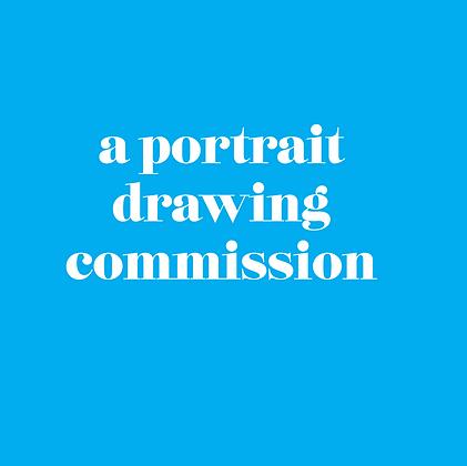 Portrait Drawing Commission